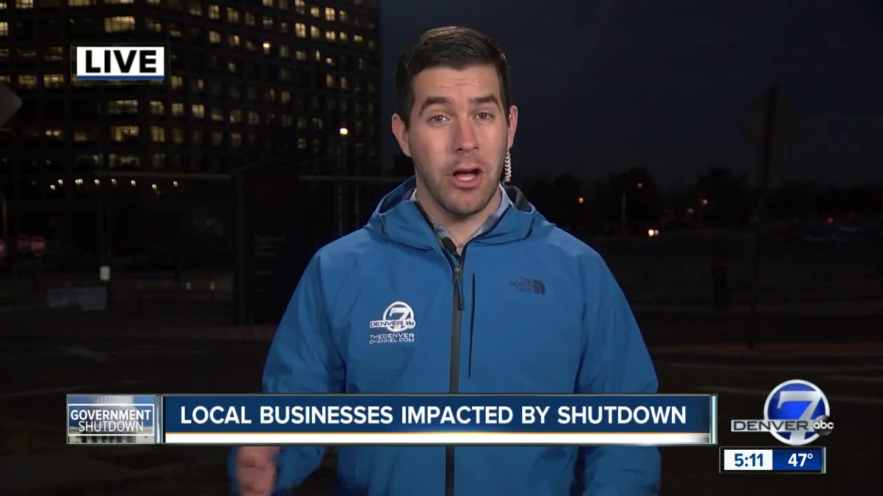 Federal workers aren't alone, local restaurants are hurting from shutdown as well
