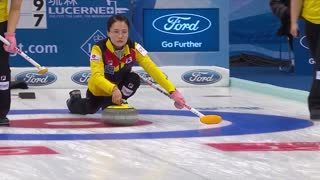 HIGHLIGHTS: Canada v Korea - CPT World Women's Curling Championship 2017 - Video
