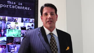 Danny Schayes Book Promo Day @ ESPN - Video