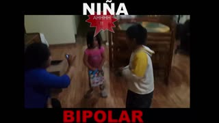 Niña bipolar al ataque!!-  VIDEO GRACIOSO - Video