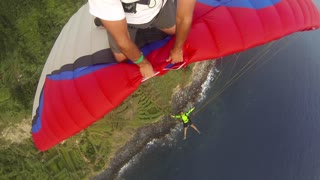 Adventurous Acro Paragliding - Video