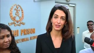 Amal Clooney aims to free jailed former Maldives president - Video