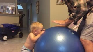 Workouts with baby - Video