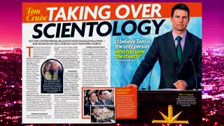 Extra HOT T: Tom Cruise Taking Over Scientology? KELLY MANTLE on HOT T! - Video