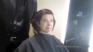 MAKEOVER: Afraid Of Going Short, by Christopher Hopkins, The Makeover Guy® - Video