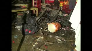 Motorbike bomb blamed for Pakistan blast - Video