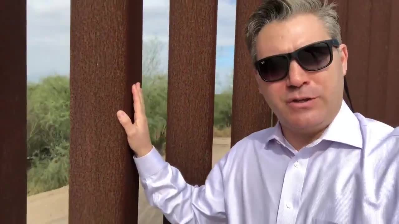 Michael Berry - Jim Acosta Inadvertently Proves That Walls Work