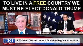 To Live in a Free Country We Must Re-Elect Donald Trump