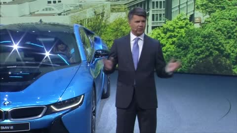 BMW chief faints on stage