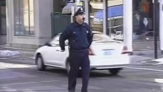 Dancing Traffic Cop - Video