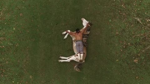 Incredible Video Shows The Extraordinary Love A Young Man And His Horse Share For Each Other