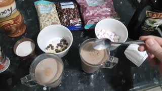Making The Perfect Christmas Hot Chocolate