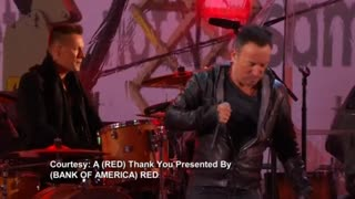 Springsteen, U2 rock World AIDS Day concert - Video