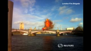 Bus blows up on London bridge for Jackie Chan film - Video