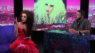 Alaska Thunderfuck LOOK AT HUH! On Hey Qween! Season 1 with Jonny McGovern - Video