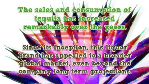Growth of Tequila Market in 2014 by Brady Bunte