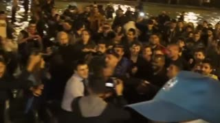 Kanye West mobbed by fans after jumping into lake in Armenia - Video