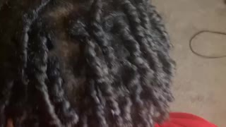 2 strand twist out