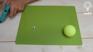 How to recycle tennis balls in a fun and easy way - Video