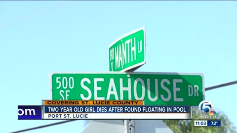 2-year-old girl drowns in Port St. Lucie