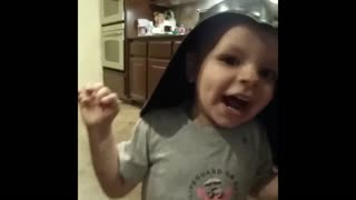 Star wars fans start young - Video