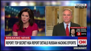 Tim Kaine on Russians- Definately - Video