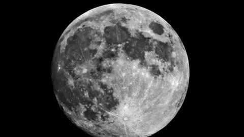 The Flat Earth The Moon Movements CLOCKWISE
