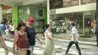 Greek retail sales weakest for years - Video