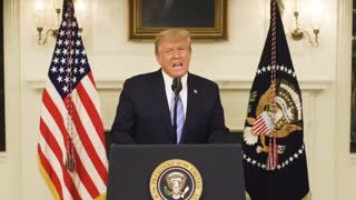 🚨 JUST IN: Video message from The President of The United States, Donald J. Trump: