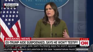 CNN hack Jim Acosta whines to Sarah Sanders.