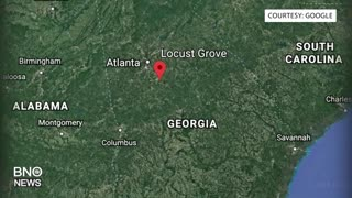 3 Police Officers Shot in Georgia State, Suspect Dead - Video