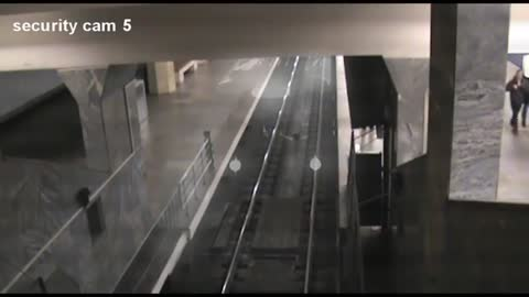 Security Camera Captures Strange Ghost Train
