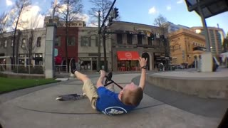 Scooter wipeout