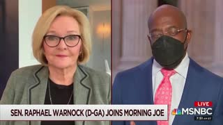 Claire McCaskill and Raphael Warnock Discuss 'Saving' Republicans