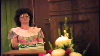 Special Service - Pastor's Appreciation Day, 1988