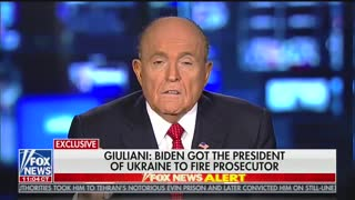 Rudy Giuliani accuses Joe Biden of bribery