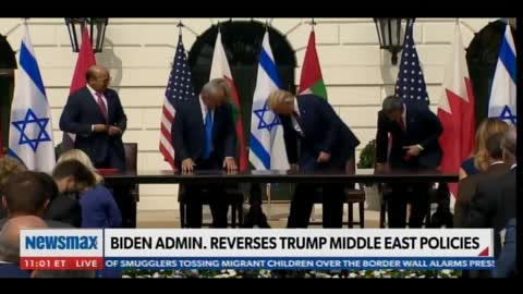 Biden Admin Refuses to Call Mideast Peace Agreements the Abrahamic Accords