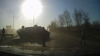 Road Rage Incident in Irkutsk - Video