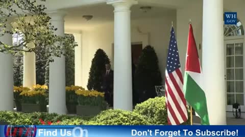 President Trump holds joint press conference with Jordan's King Abdullah