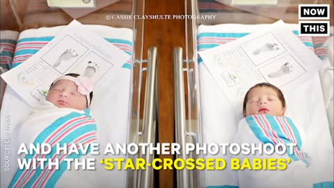 """2 Babies Born in the Same Hospital Share a """"Star-Crossed"""" Name Connection"""