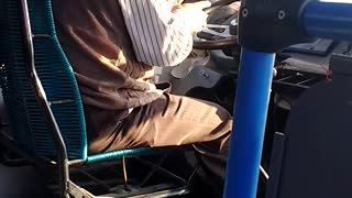 Bus Driver Texting While Driving