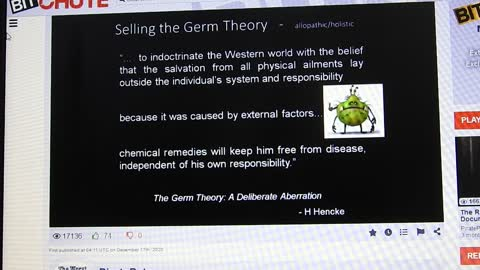 Selling the Germ Theory by Louis Pasteur