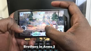 Gaming on the HTC One M9 - Video