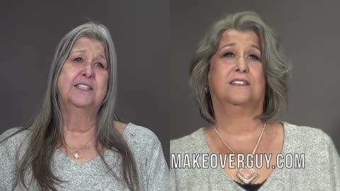A Gorgeous Gray MAKEOVERGUY® Makeover