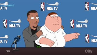 Steph Curry Stars on Family Guy, Recreates HILARIOUS Riley Curry Press Conference with Peter Griffin - Video