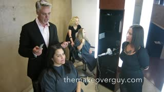 "MAKEOVER! Working Mom Turning 44 by Christopher Hopkins, ""The Makeover Guy ®"""