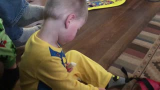 Toddler Playing With Shaving Kit Gives Mom A Wild Response