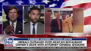 Tucker Carlson loses it when Univision host claims Mexico owns tacos
