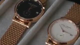 Lars Larsen Watches - Offering watches of elegant designs for both men and women - Video