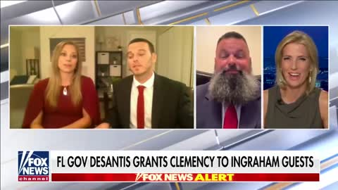 Ron DeSantis grants clemency to 'Ingraham Angle' guests on live TV
